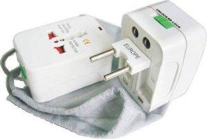NEW Universal Travel Electrical Power Adapter Plug US UK AU EU & Many More !
