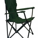 Lincoln Park Quality Children Kids Folding Camping Chair w/ Carrying Bag (Green)