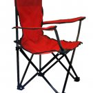 Lincoln Park Quality Children Folding Camping Chair w/ Carrying Bag (RED)!