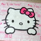 "ADORABLE HELLO KITTY Lovers Coral Fleece Button-Up Blanket 45"" x 55"""