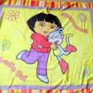 "Dora the Explorer Wearable Coral Fleece Blanket (w/buttons) 45"" x 55"""