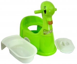 Duck Potty Training Seat for Toddlers in NEON GREEN (MORE COLORS AVAILABLE!!)