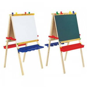 Melissa & Doug Deluxe Large Standing Art Paint Easel Preschool Montessori Kids!!