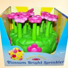Melissa & Doug Sunny Patch Blossom Bright Sprinkler For Kids Water Lawn Summer!!