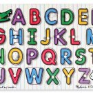 Melissa & Doug Alphabet Peg Puzzle Preschool Montessori 2012 FREE SHIPPING BNIB