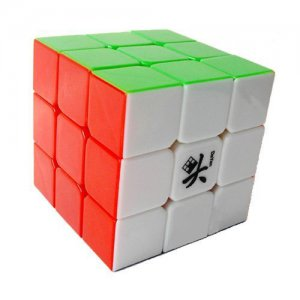 ORIGINAL Dayan 5 ZhanChi 3x3x3 Speed Cube 6 Color Stickerless SolvingCompetition