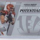 2010 Panini Certified Potential #11 Jordan Shipley Bengals #'D 318/999