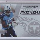 2010 Panini Certified Potential #19 Damian Williams Titans #'D 586/999
