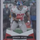 2010 Panini Certified Platinum Red #97 Brandon Jacobs Giants #'D 842/999