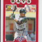 2008 Topps Opening Day #74 Delmon Young Rays NMT-MT