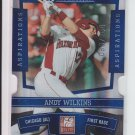2010 Donruss Elite Blue Aspirations Die Cut #29 Andy Wilkins #'D 083/200