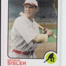 2010 Topps Vintage Legends Collection #VLC-30 George Sisler Browns