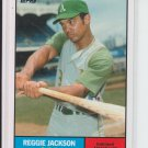 2010 Topps Vintage Legends Collection #VLC-32 Reggie Jackson Athletics