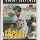 2010 Topps Pro Debut Tools of the Trade #TT6 Tony Sanchez Pirates
