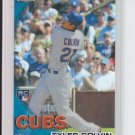 2010 Topps Chrome Wrapper Redemption Refractor RC #181 Tyler Colvin Cubs