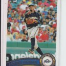 2011 Topps Series 1 #251 Alcides Escobar Brewers
