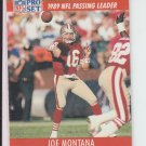 1991 Pro Set #8 Joe Montana 49ers Slight Chipping
