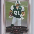 2008 Donruss Classics Timless Tributes Bronze Rookie Card #183 Dustin Keller Jets #'D 090/250