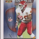 2009 Gridiron Gear Silver X's Rookie Card #158 Javarris Williams Chiefs #'D 202/250