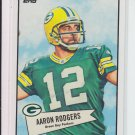 2010 Topps 52 Style #52B-6 Aaron Rodgers Packers Sharp!