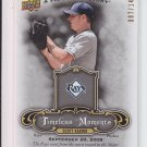 2009 UD A Piece Of History Timeless Moments #TM-SK Scott Kazmir Rays #'D 087/149