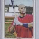 2010 Topps 206 #221 Albert Pujols Cardinals Sharp!