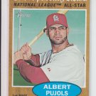 2011 Topps Heritage News AS #390 Albert Pujols Cardinals