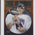 2008 Topps Chrome Ring of Honor #RH42EM Eli Manning Giants