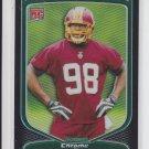 2009 Bowman Chrome Rookie Card Refractors #147 Brian Orakpo Redskins