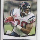 2009 Topps Unique Alone At The Top #AT3 Andre Johnson Texans Sharp!