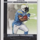 2009 Topps Unique Unis #UU8 Ladainian Tomlinson Chargers