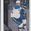 Chris Stewart Double Diamond 2011-12 UD Black Diamond #105 Blues