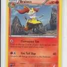 Braixen Uncommon Pokemon Black & White XY #25/146