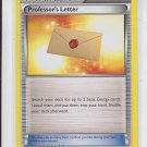 Professor's Letter Uncommon Trainer Pokemon Black & White XY #123/146