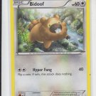 Bidoof Common Pokemon Black & White XY #106/146