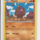 Diglett Common Pokemon Black & White XY #58/146