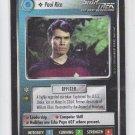 Paul Rice Personnel Uncommon 1998 Decipher Star Trek Alternate Universe x1 *ROB
