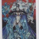 Lady Death Choromium Refractor 1995 Chaos Comis Krome Promo Trading Card  *ROB