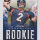 Zac Dysert Rookie Card 2013 Panini Prestige #299 Broncos QTY Available