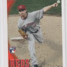 Travis Wood Rookie Card 2010 Topps Update Series #US-271 Reds QTY