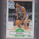 Sam Mitchell Rookie Card Lot of (19) 1990-91 Fleer #114 Timberwolves UER