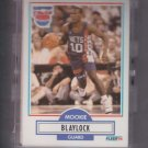 Mookie Blaylock Rookie Card Lot of (31) 1990-91 Fleer #117 Nets