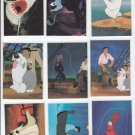 My Little Mermaid Stand-Up of 15 1991 Pro Set No Dupes Mint *ED