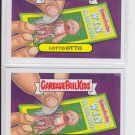 Lotto Otto Base Lot of (2) Garbage Pail Kids Series 2 Trading Card #77b