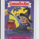 Wicked Wanda 2013 Garbage Pail Kids Series 2 Trading Card #105b