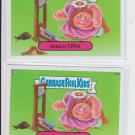 Headless Harriet & Guillo Tina Garbage Pail Kids Series 2 Trading Card 113a 113b