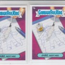 Jake Mistake Lot of (2) Garbage Pail Kids Series 2 Trading Card #89a