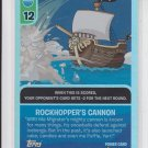 Rockhopper's Cannon Club Penguin Card-Jitsu Fire Series 3 Power Foil #60/68