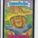 Drummed Dennis Black Parallel 2013 Garbage Pail Kids Series 2 Trading Card #95a