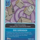Box Dimension Club Penguin Card-Jitsu Fire Series 3 Power Foil #57/68